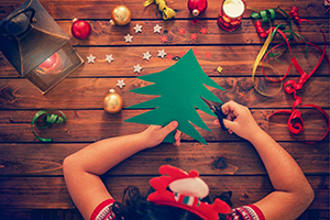 Fri 21st Dec Christmas Tree Craft - December/January Vacation Care Program