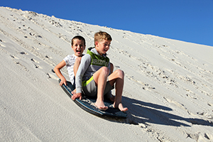 Tues 22nd Jan Sandboarding - December/January Vacation Care Program