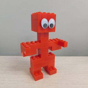 E055 Preschool Engineering Brick Challenge 2 Robot 300x300 - Brick Challenge #2