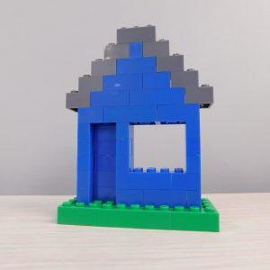 E057 Preschool Engineering Brick Challenge 3 House 300x300 - Brick Challenge #3