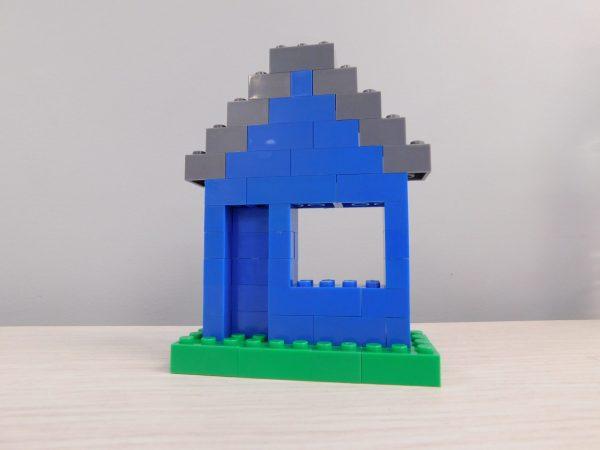 E057 Preschool Engineering Brick Challenge 3 House 600x450 - Brick Challenge #3