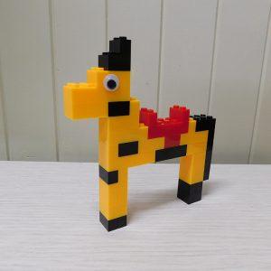 E094 Preschool Engineering Brick Challenge 14 Horse 300x300 - Brick Challenge #14